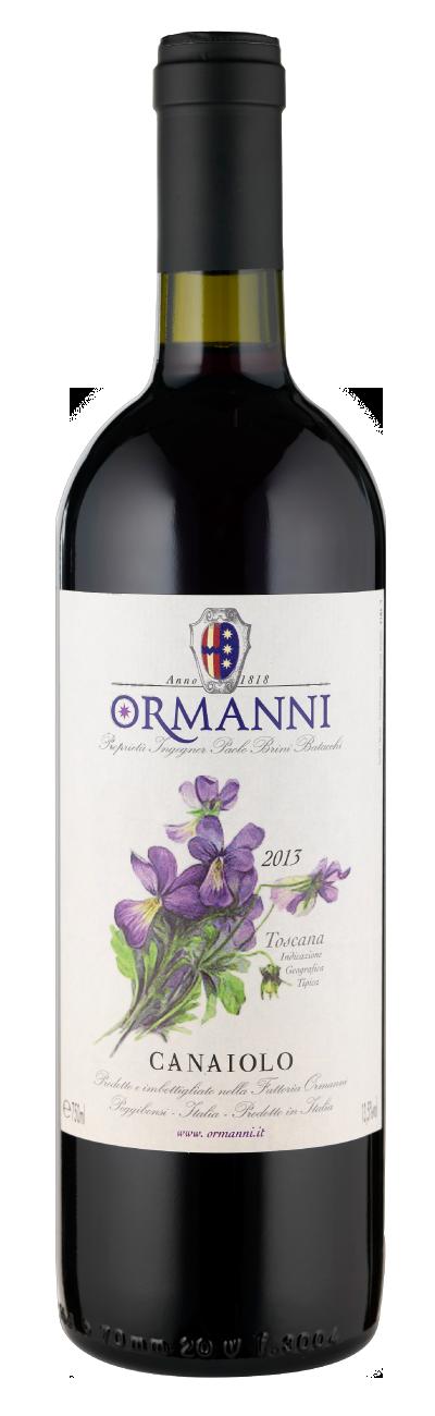 Canaiolo Ormanni vino del Chianti
